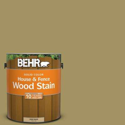 1 gal. #M330-6 Keemun Solid Color House and Fence Exterior Wood Stain