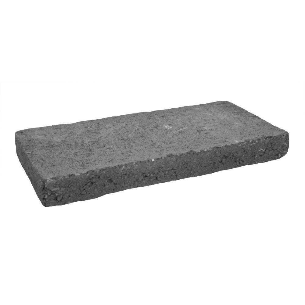 1-1/2 in. x 8 in. x 16 in. Gray Concrete Cap
