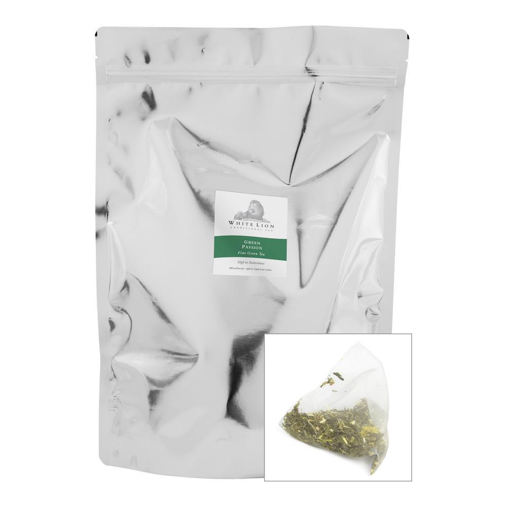 Tea Green Passion Bulk Sachets Food Service Tea Bags (200 per Pack)