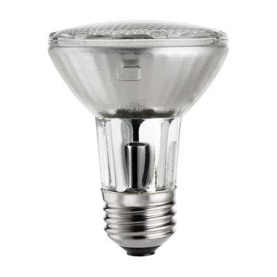 50-Watt Equivalent PAR20 Halogen Dimmable Floodlight Light Bulb