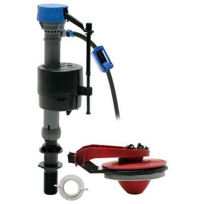No Tank Removal PerforMAX Universal High Performance Toilet Fill Valve and 2 in. Flapper Repair Kit