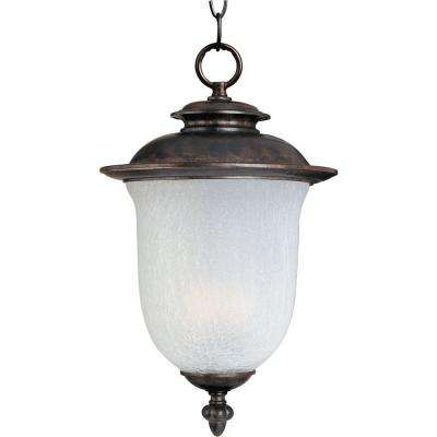 Cambria DC 2-Light Chocolate Outdoor Hanging Lantern
