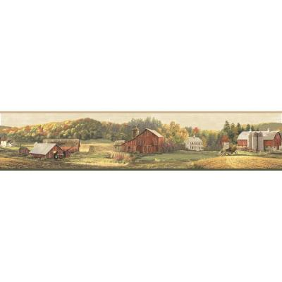 Winder Luther's Farm Wallpaper Border