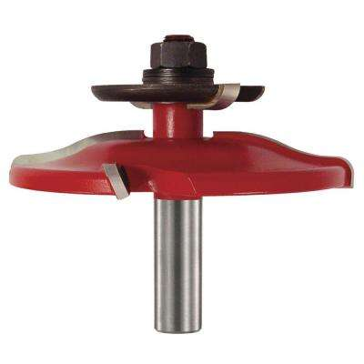 1-1/2 in. Carbide Ogee Raise Panel Router Bit