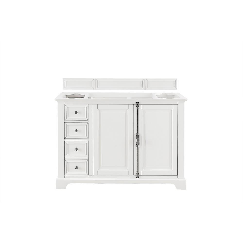 Providence 48 in. W x 23.75 in. D Single Bath Vanity Cabinet in Cottage White