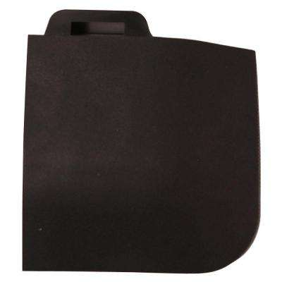 StayLock Corner Edging Black 2.6 in. x 2.6 in. x 0.56 in. Gym Plastic Corner Tile
