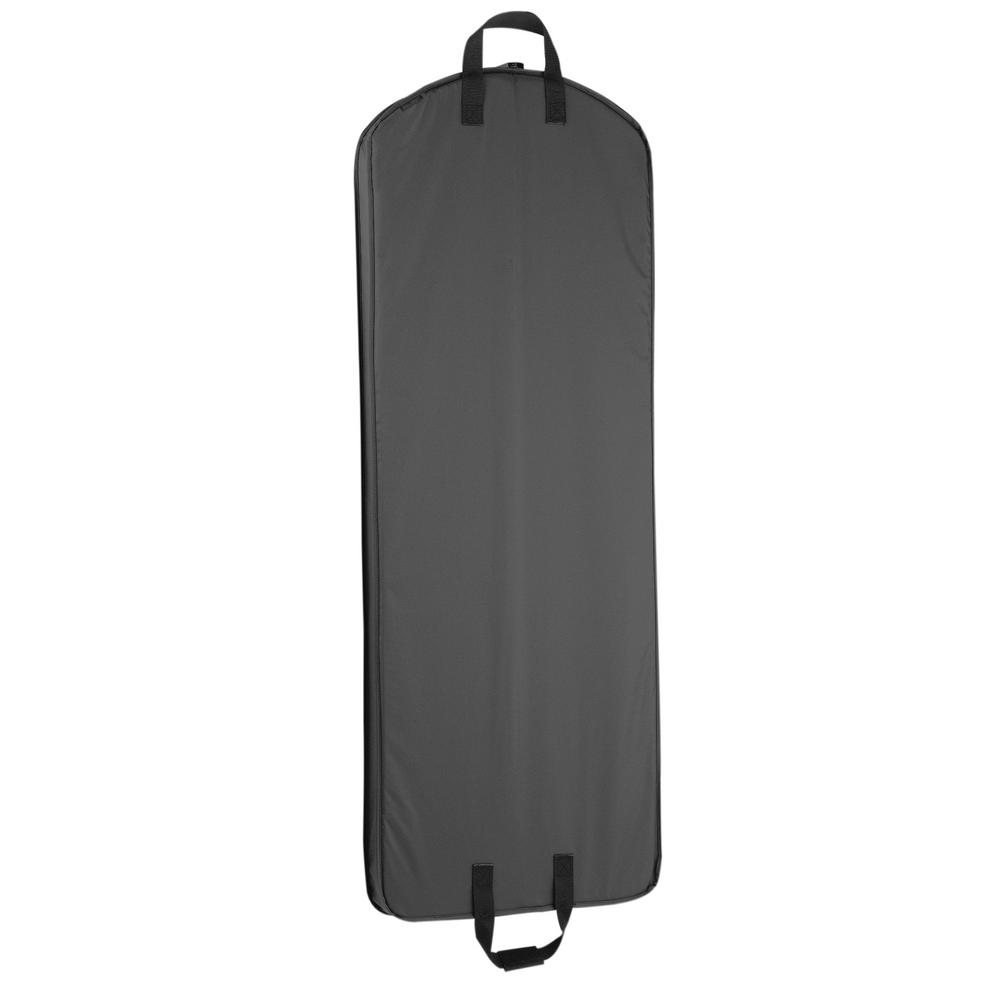 WallyBags 60 in. Black Gown Length Carry-On Garment Bag-759 BLK ...