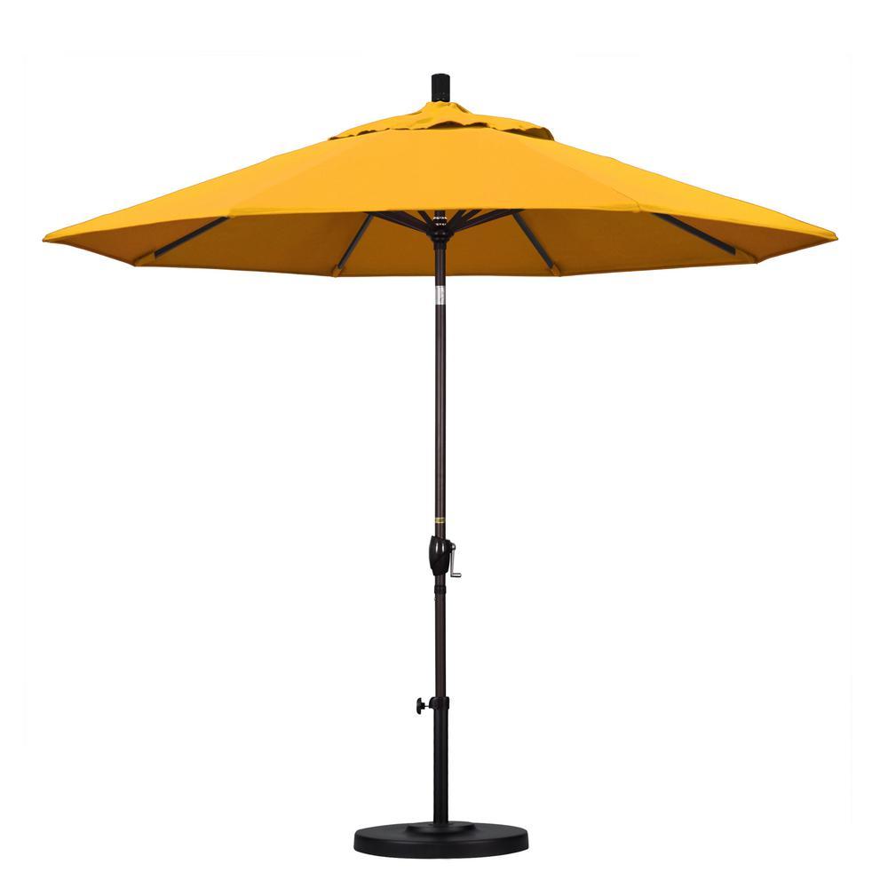 California Umbrella 9 Ft. Aluminum Push Tilt Patio Umbrel.