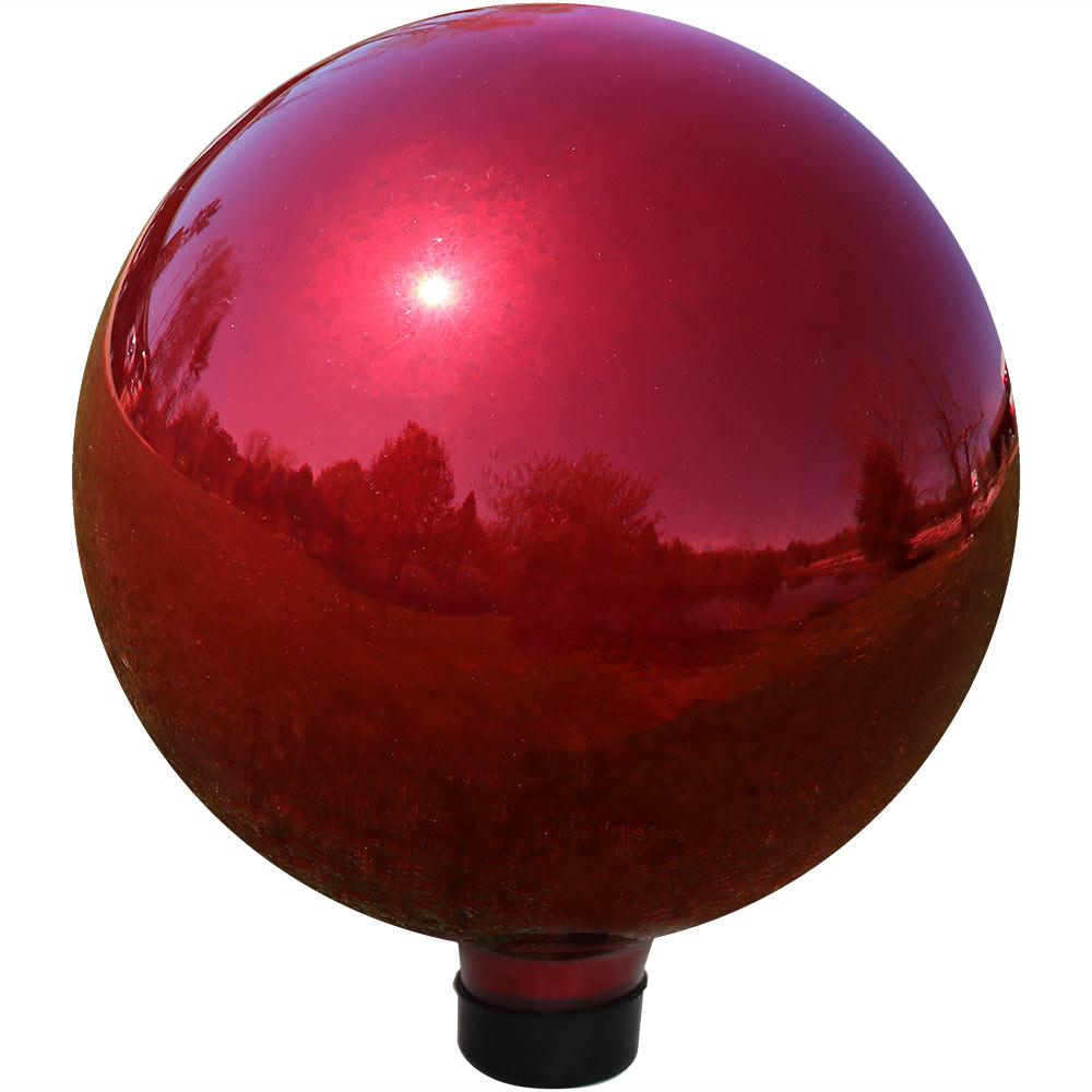 Sunnydaze Decor Mirrored Garden 10 In Gazing Ball Yard