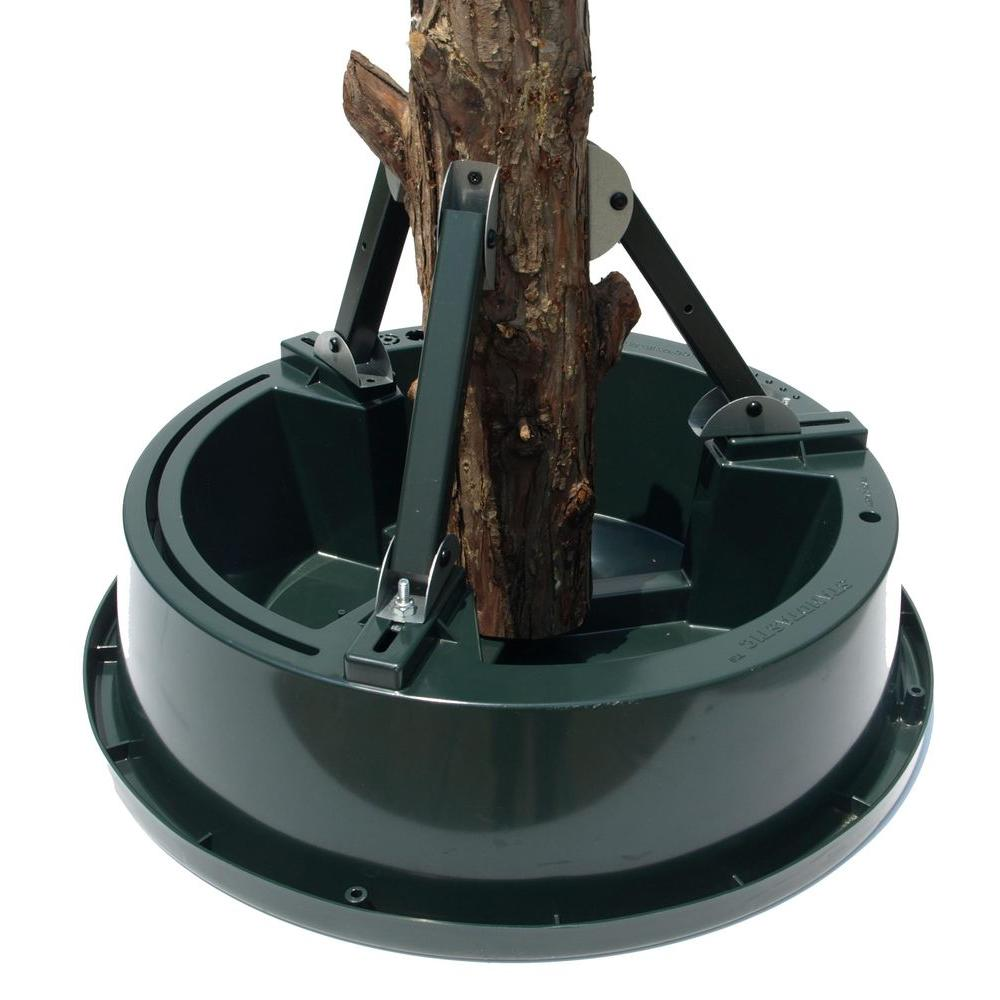 Jack Post Christmas Tree Stand: Standtastic Plastic Heavy Duty Christmas Tree Stand For
