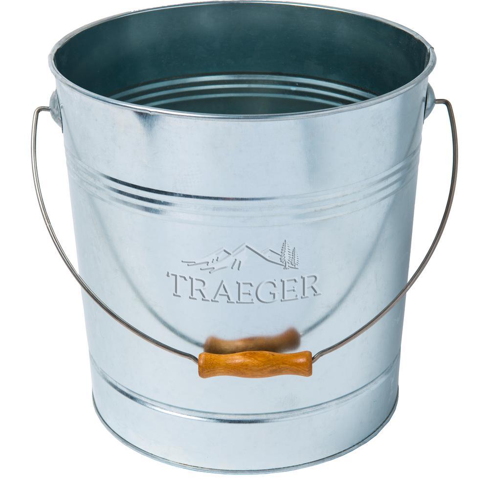 Traeger 20 LB Pellet Metal Storage Bucket
