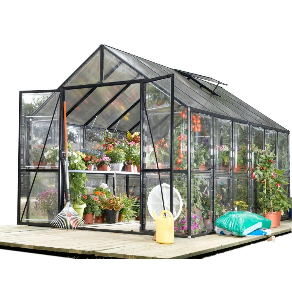 STC Clear View 8 ft. x 12 ft. Greenhouse