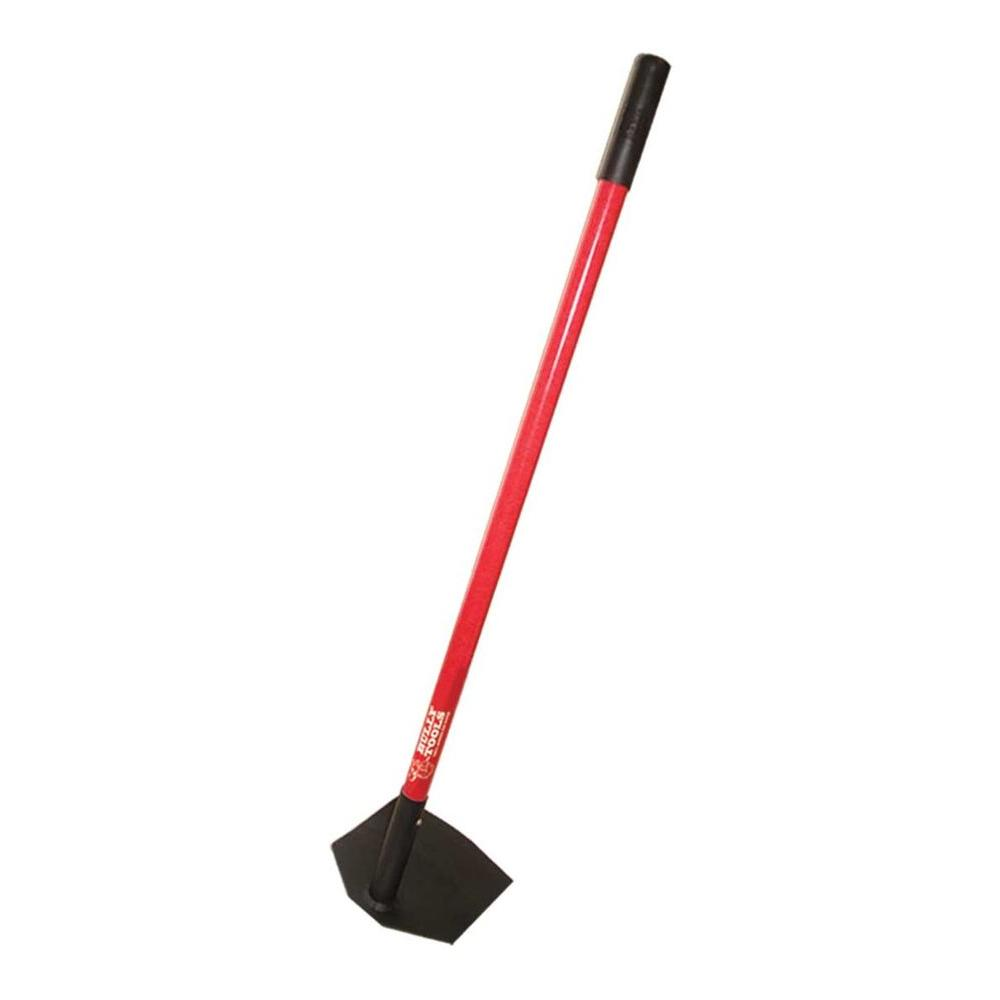 Bully Tools 7-Gauge 8 in. Field Hoe with Fiberglass Handle