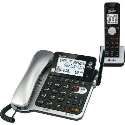 DECT 6.0 Corded/Cordless Phone with Answering Machine