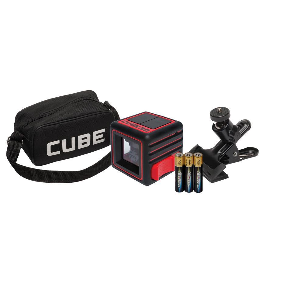 Cube 3D Cross Line Laser Level Home Edition