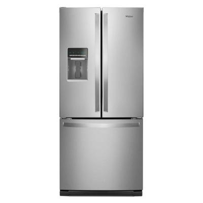7ae8e89f5bc French Door Refrigerator in Fingerprint Resistant Stainless Steel