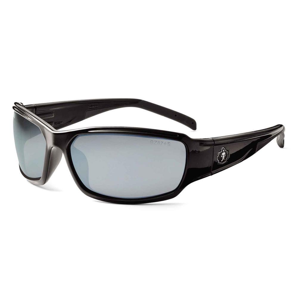 5bc8e641452 Ergodyne Skullerz Thor Black Safety Glasses