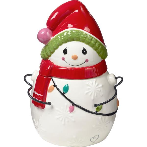 Large Jolly Snowman Light Up Paint Your Own Holiday Ceramic Keepsake