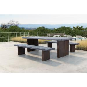 ZUO Windsor Wood Outdoor Dining Table by ZUO