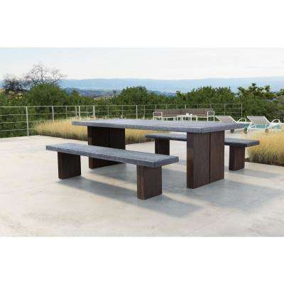 Windsor Wood Outdoor Dining Table