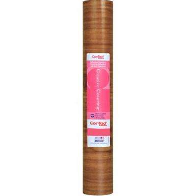 Creative Covering 18 in. x 20 ft. Knotty Pine Self-Adhesive Vinyl Drawer and Shelf Liner (6 rolls)
