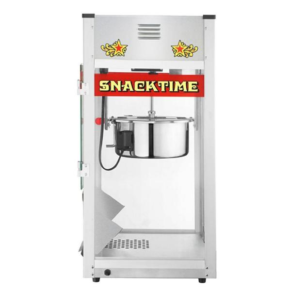 Great Northern Top Star 12 oz. Silver Countertop Popcorn Machine