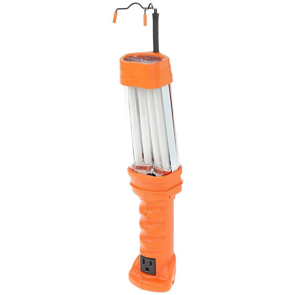 Double-Brite Pro Grade 26-Watt Fluorescent Work Light