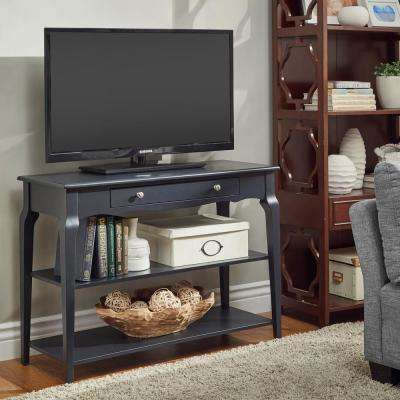 Vulcan Black Sofa Table Tv Stand