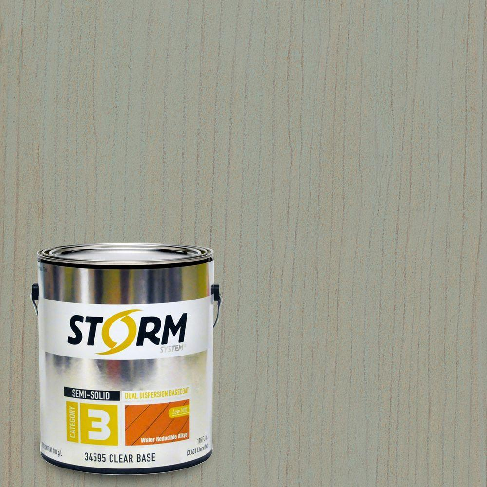 Storm System 1 gal. Reflections Exterior Semi-Solid Dual Dispersion Wood Finish