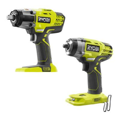 ONE+ 18V Cordless Combo Kit with 3-Speed 1/2 in. Impact Wrench and 3/8 in. 3-Speed Impact Wrench (Tools Only)