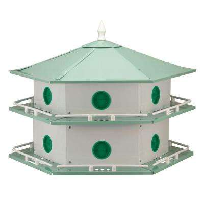 12 Room Deluxe Aluminum Purple Martin House