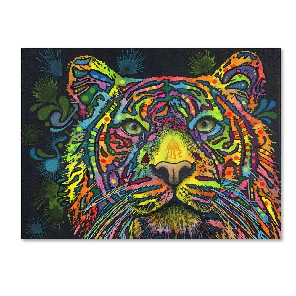 Trademark Fine Art 35 in. x 47 in. Tiger Canvas Art