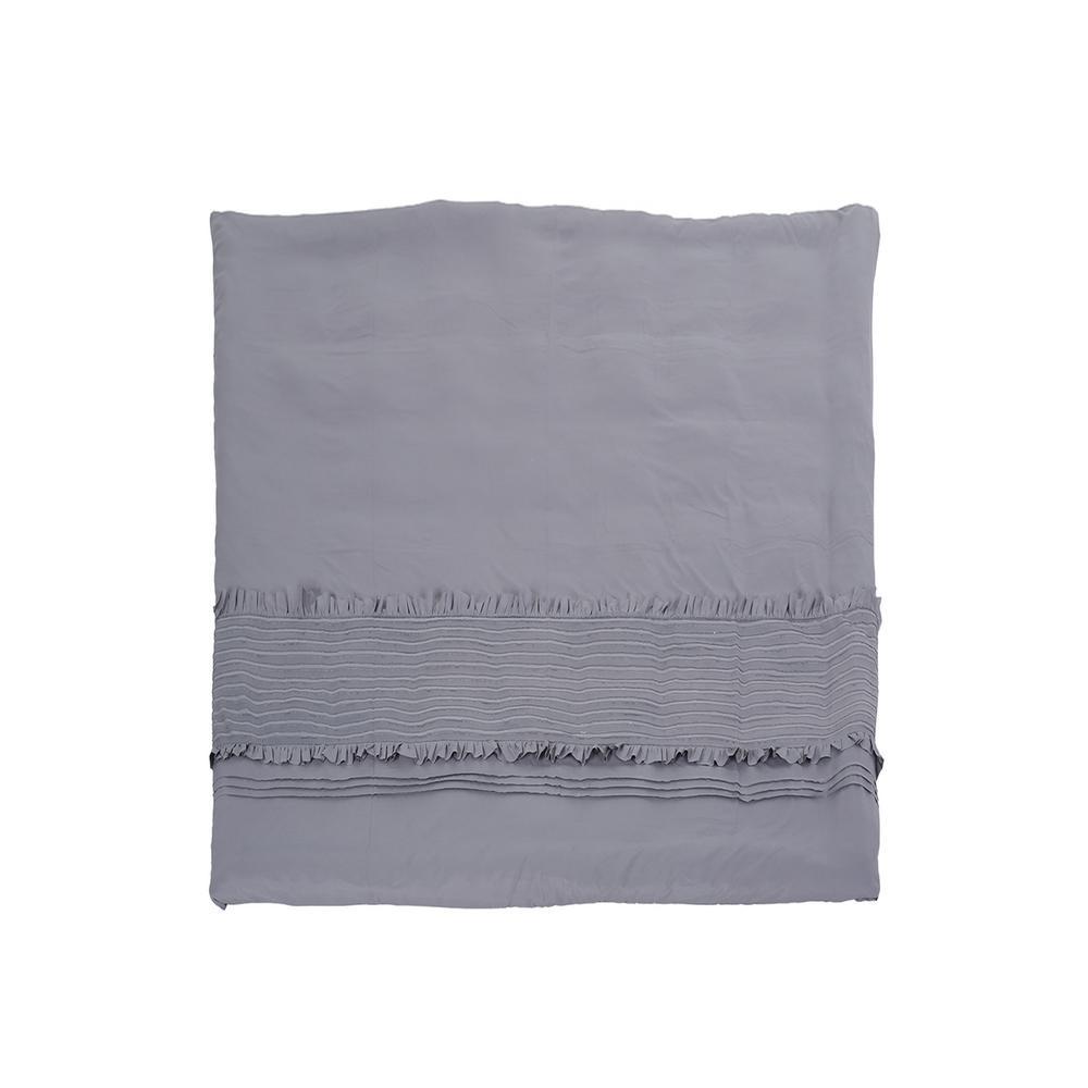 Brookhollow Grey Queen Duvet Cover