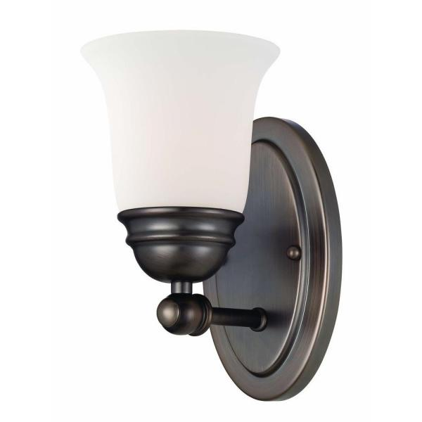 Bella 1-Light Oiled Bronze Wall Sconce