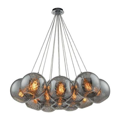 Watersphere 12-Light Polished Chrome Pendant