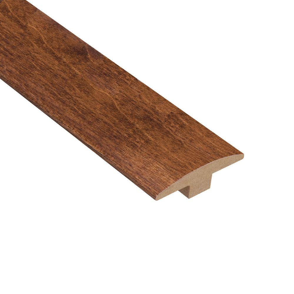 Home Legend Kinsley Hickory 3/8 in. Thick x 2 in. Wide x 78 in. Length Hardwood T-Molding