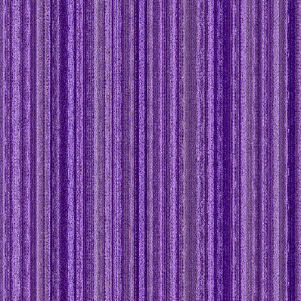 The Wallpaper Company 8 in. x 10 in. Multi Col String Stripe Purple Wallpaper Sample