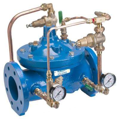 4 in. Iron Pressure Reducing Valve with Low Flow Bypass