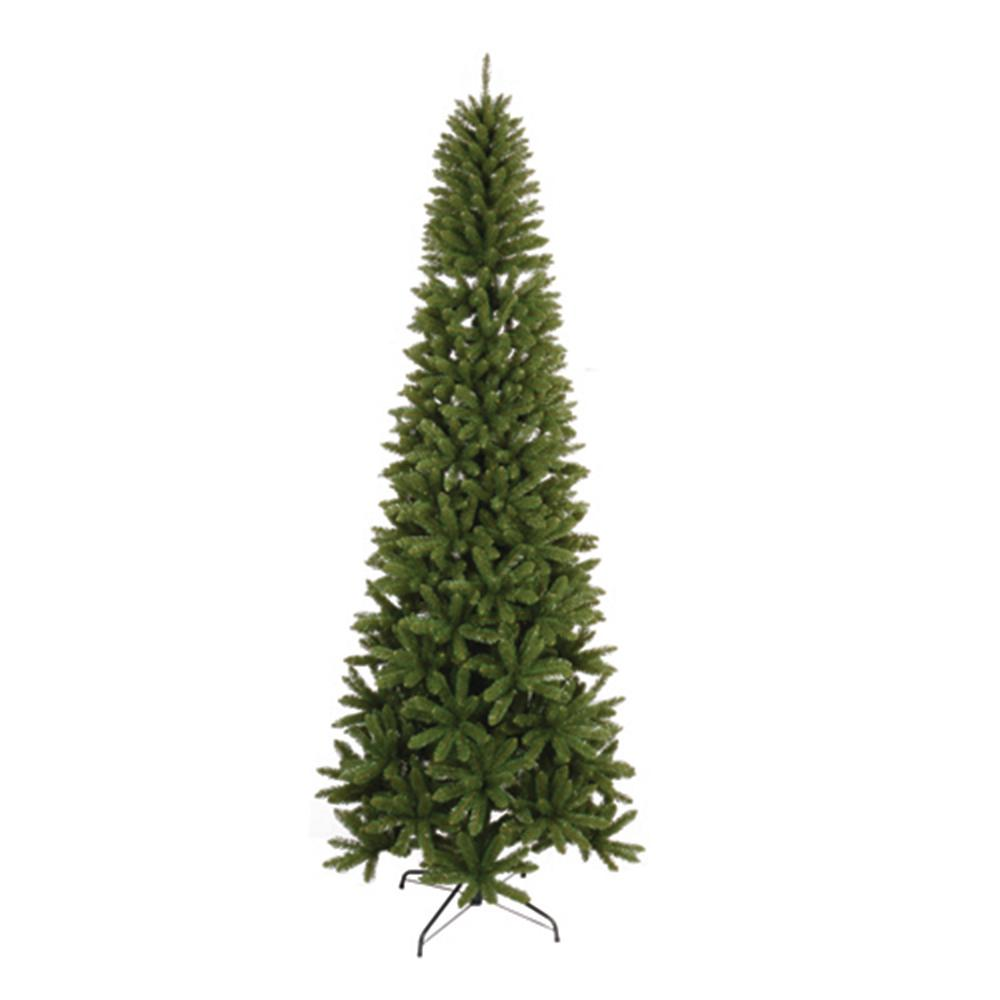9 ft. Unlit Slim Artificial Christmas Tree with 1302 Tips ...