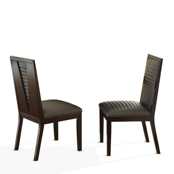 Steve Silver Company Antonio Charcoal Side Chair Set Of 2 At550sn