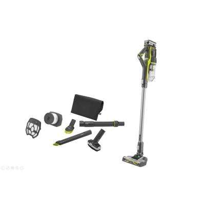 18-Volt ONE+ Stick Vacuum Cleaner with 4.0 Ah LITHIUM+ Battery, 4-Piece Accessory Kit &Replacement Filter Assembly