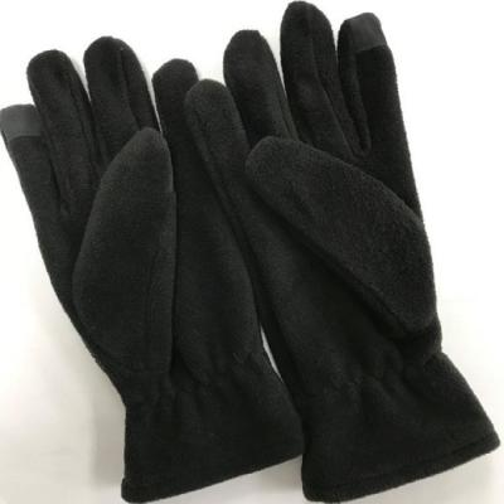 Ladies Premium Black Fleece Touchscreen Glove (1 Size Fits Most)