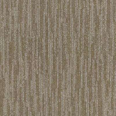 Carpet Sample - Clean Space - Color Tavern Taupe Pattern 8 in. x 8 in.
