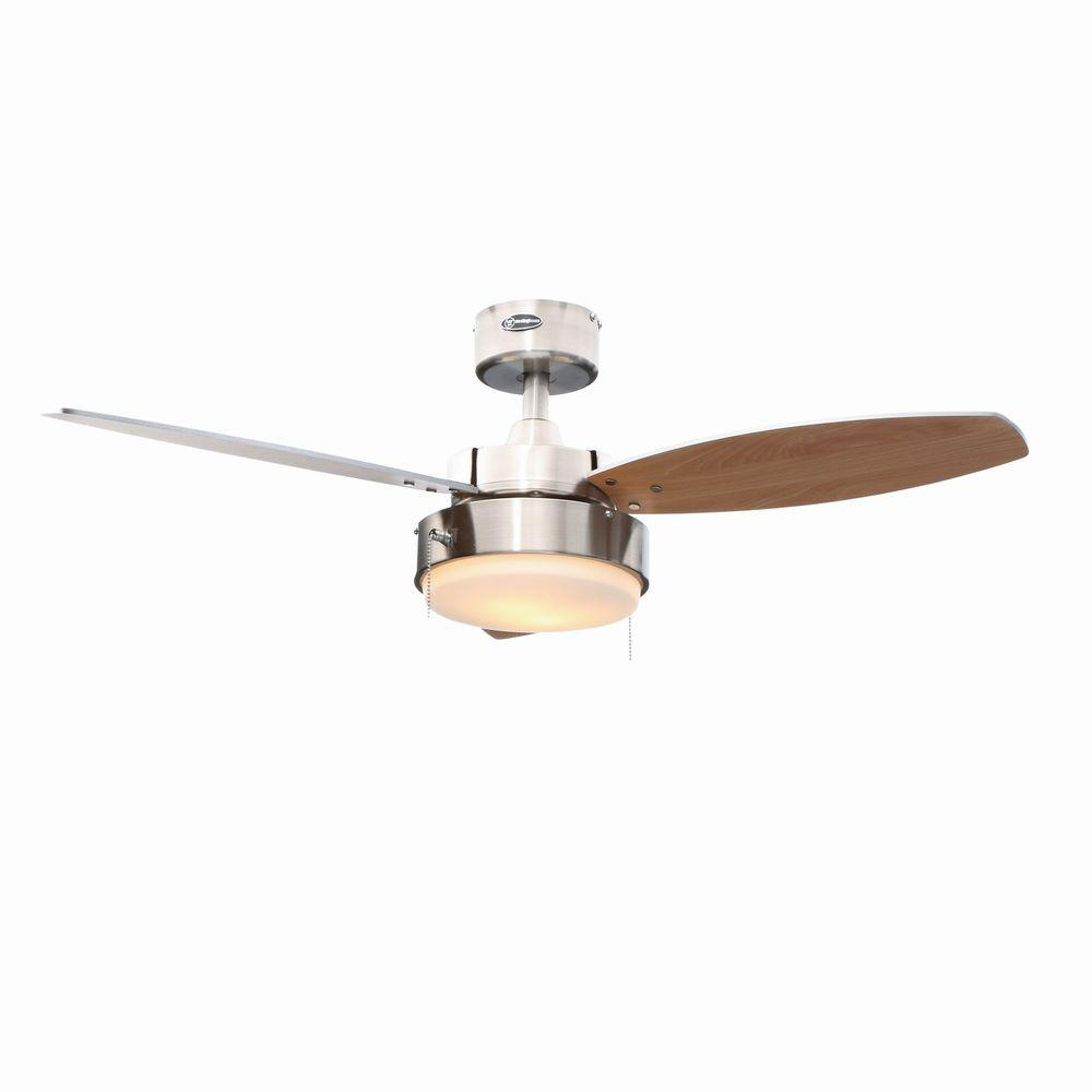 Westinghouse Alloy 42 In Indoor Brushed Nickel Ceiling Fan