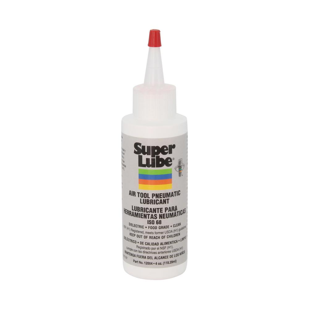 Super Lube 4 Oz Bottle Air Tool Lubricant 12004 The