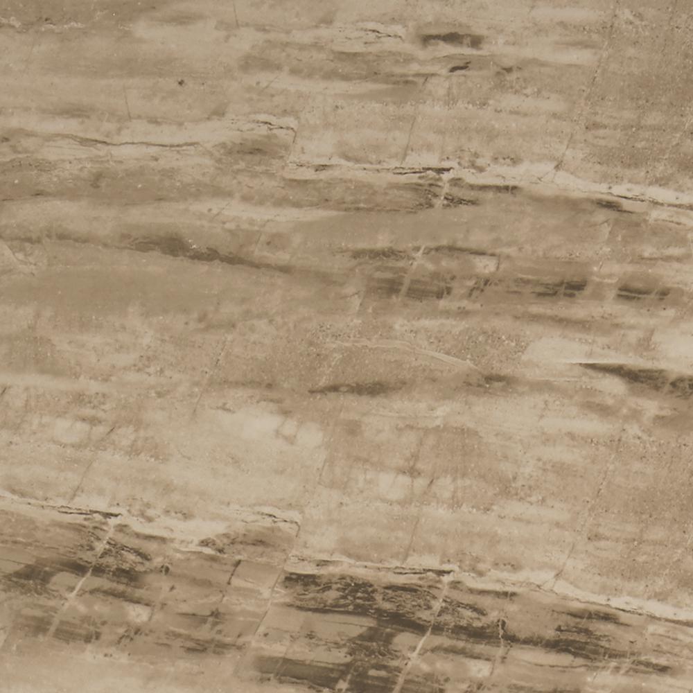 Sanford Desert Sand Matte 3 in. x 12 in. Color Body Porcelain Bullnose Trim Tile