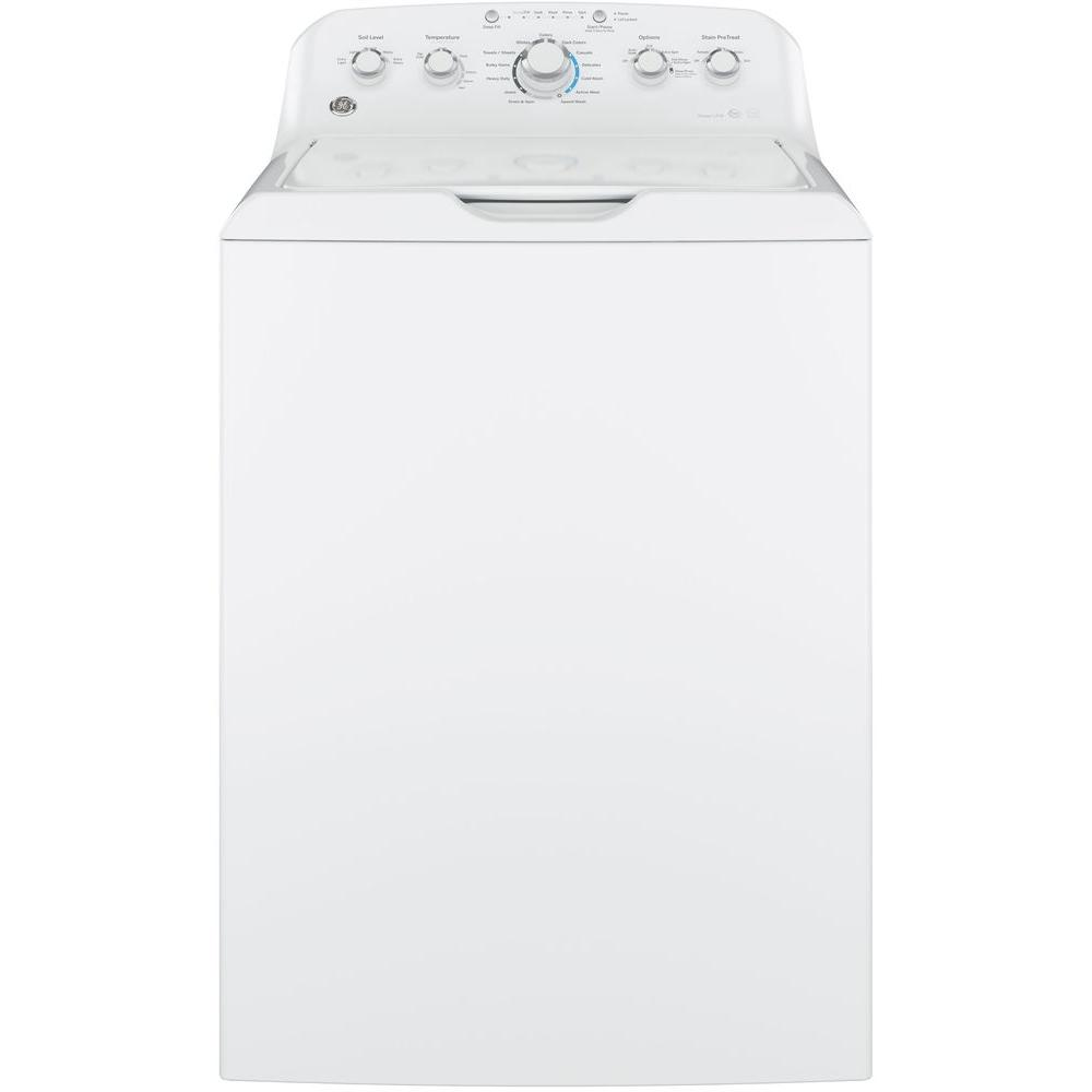 4.4 cu. ft. White, Top Load Washing Machine ENERGY STAR