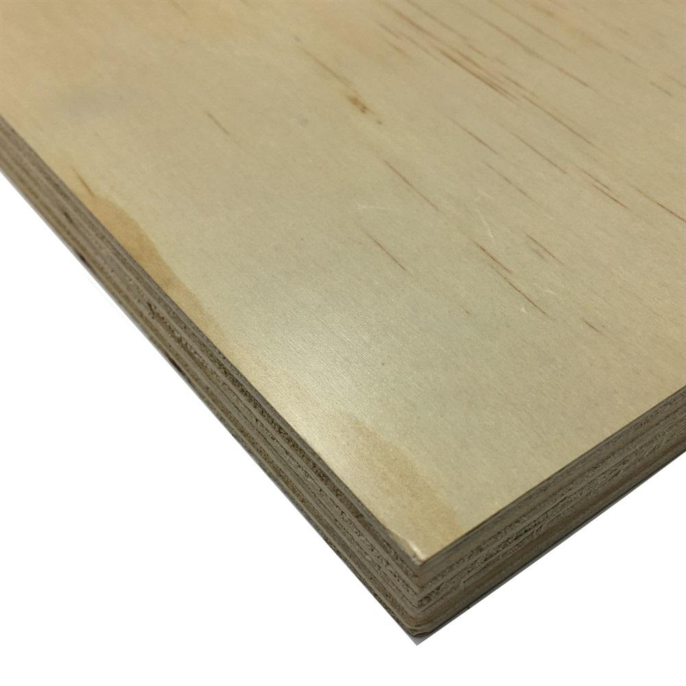 Beau Prefinished Radiata Pine Plywood (Common: 23/32 In. X 4 Ft.