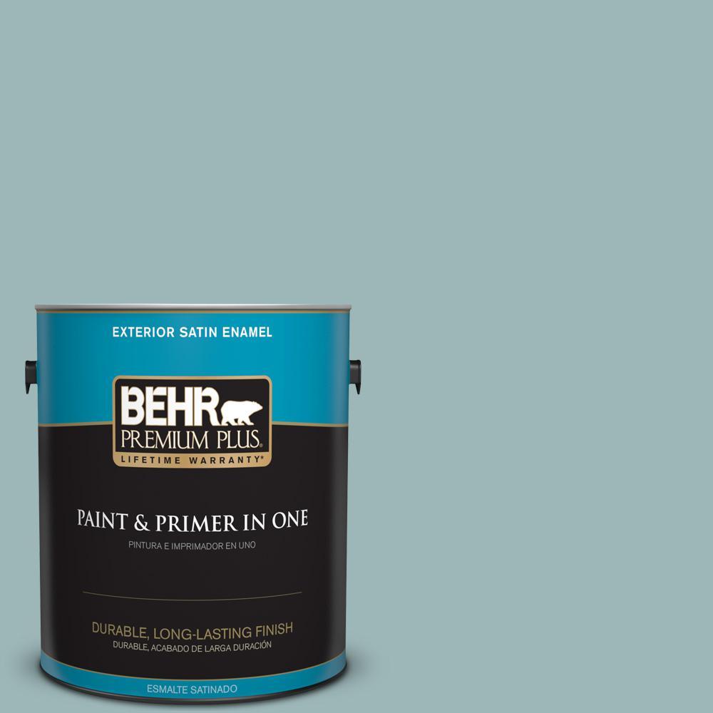 1 gal. #PPU13-12 Harmonious Satin Enamel Exterior Paint