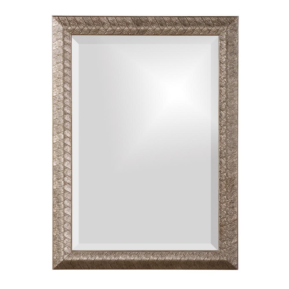 28 in. x 20 in. Rectangle Framed Mirror